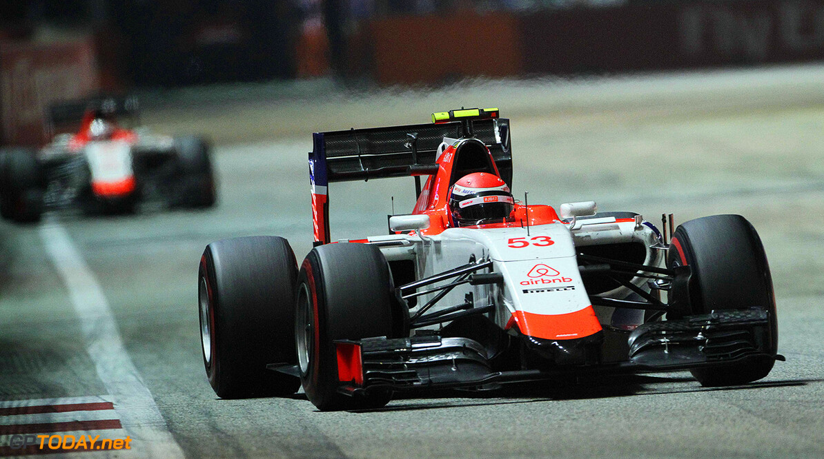 Formula One World Championship Alexander Rossi (USA) Manor Marussia F1 Team.