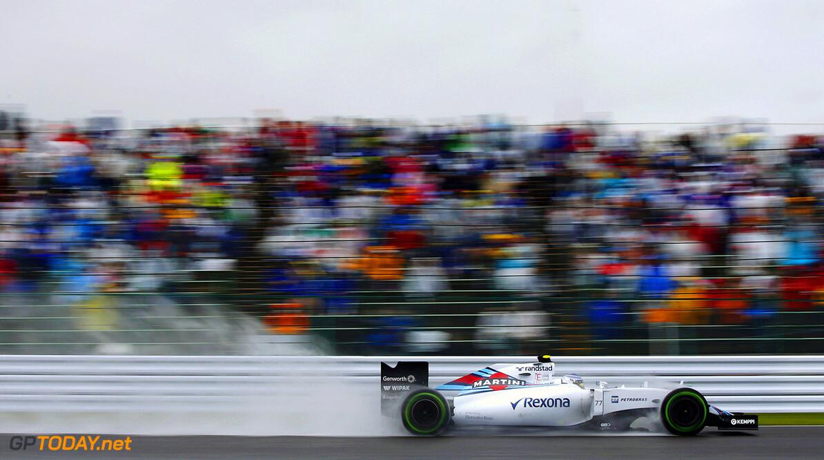 Suzuka Circuit, Suzuka, Japan. Friday 25 September 2015. Valtteri Bottas, Williams FW37 Mercedes. Photo: Glenn Dunbar/Williams ref: Digital Image WW2Q9806      Action