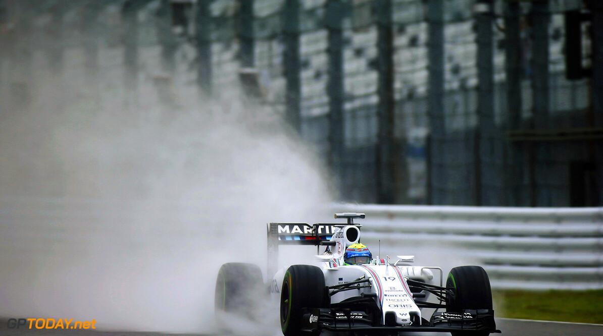 Suzuka Circuit, Suzuka, Japan. Friday 25 September 2015. Felipe Massa, Williams FW37 Mercedes. Photo: Glenn Dunbar/Williams ref: Digital Image W89P0390      Action
