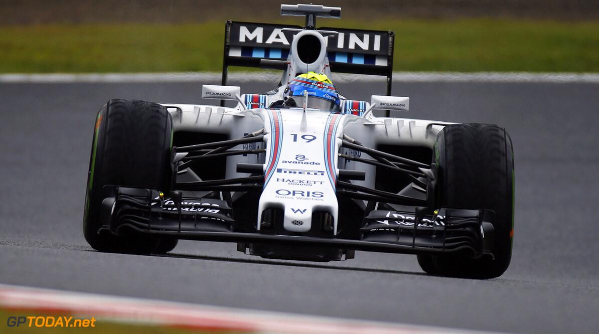 Suzuka Circuit, Suzuka, Japan. Friday 25 September 2015. Felipe Massa, Williams FW37 Mercedes. Photo: Glenn Dunbar/Williams ref: Digital Image W89P0741      Action