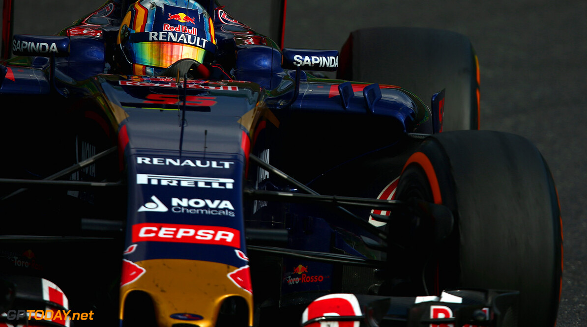 SUZUKA, JAPAN - SEPTEMBER 27:  Carlos Sainz of Spain and Scuderia Toro Rosso drives during the Formula One Grand Prix of Japan at Suzuka Circuit on September 27, 2015 in Suzuka, Japan.  (Photo by Clive Mason/Getty Images) // Getty Images/Red Bull Content Pool // P-20150927-00459 // Usage for editorial use only // Please go to www.redbullcontentpool.com for further information. //  F1 Grand Prix of Japan Clive Mason Suzuka Japan  P-20150927-00459