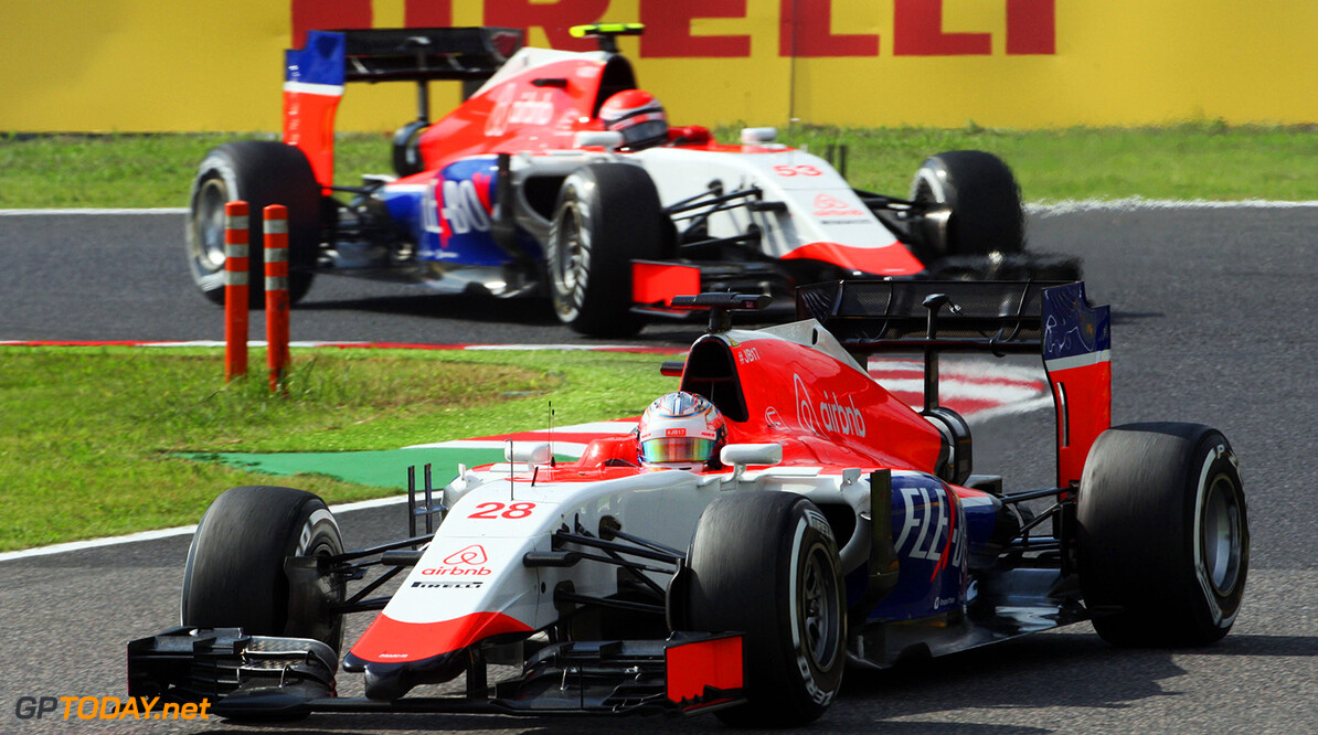 Three drivers in race Manor 2016 raceseats