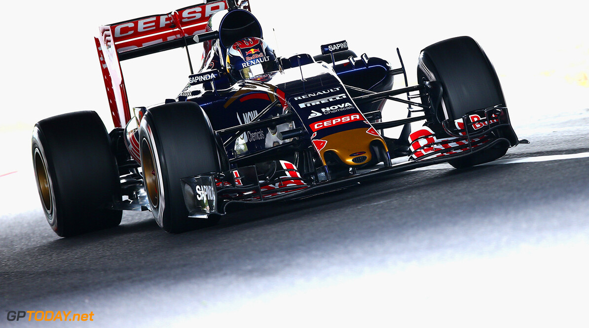 SUZUKA, JAPAN - SEPTEMBER 26:  Max Verstappen of Netherlands and Scuderia Toro Rosso drives aduring final practice for the Formula One Grand Prix of Japan at Suzuka Circuit on September 26, 2015 in Suzuka.  (Photo by Clive Mason/Getty Images) // Getty Images/Red Bull Content Pool // P-20150926-00209 // Usage for editorial use only // Please go to www.redbullcontentpool.com for further information. //  F1 Grand Prix of Japan - Qualifying Clive Mason Suzuka Japan  P-20150926-00209