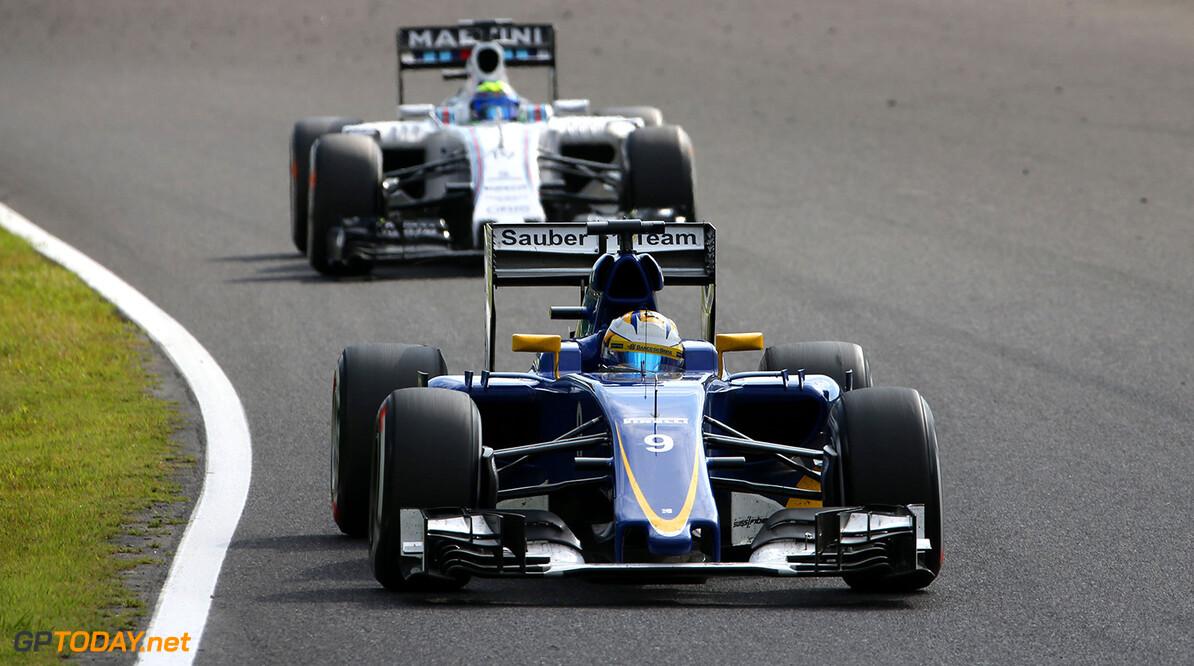 Japanese GP Race 27/09/15 Marcus Ericsson (SWE) Sauber F1 Team.  Suzuka Circuit.  Japanese GP Race 27/09/15 Jad Sherif                       Suzuka Japan  F1 Formula 1 One 2015 Action Ericsson Sauber