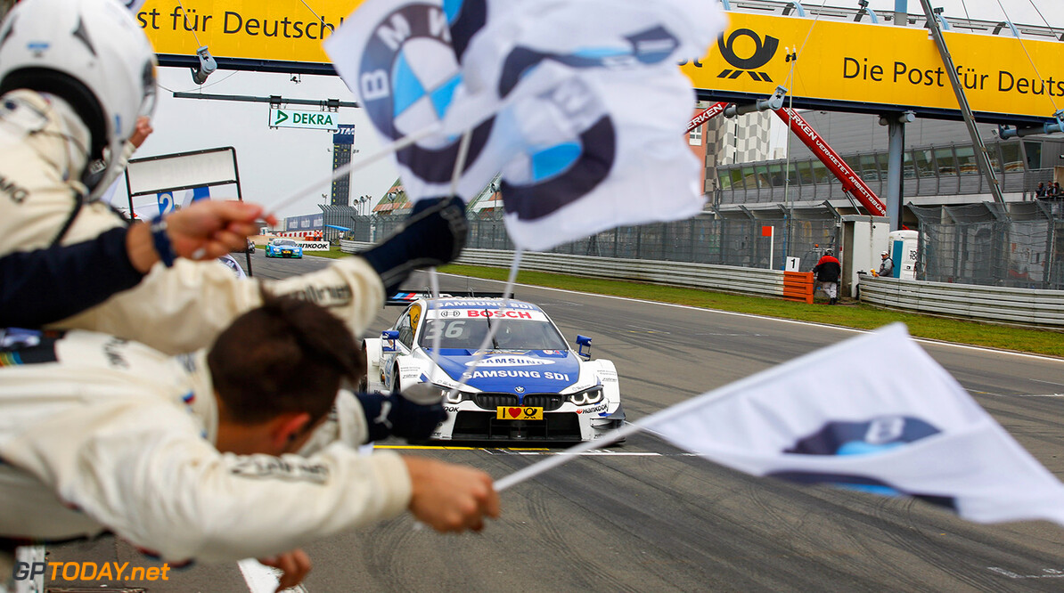 DTM Nuerburgring Motorsports: DTM race Nuerburgring, #36 Maxime Martin (BEL, BMW Team RMG, BMW M4 DTM) Motorsports: DTM race Nuerburgring Gruppe C / Hoch Zwei    Aktion - Action Aktionsbild Aktionsfoto Fahrbild Fahrszene - race action Motorsport - motor sport Partner01 Rennen - race Rennszene faehrt fahrend
