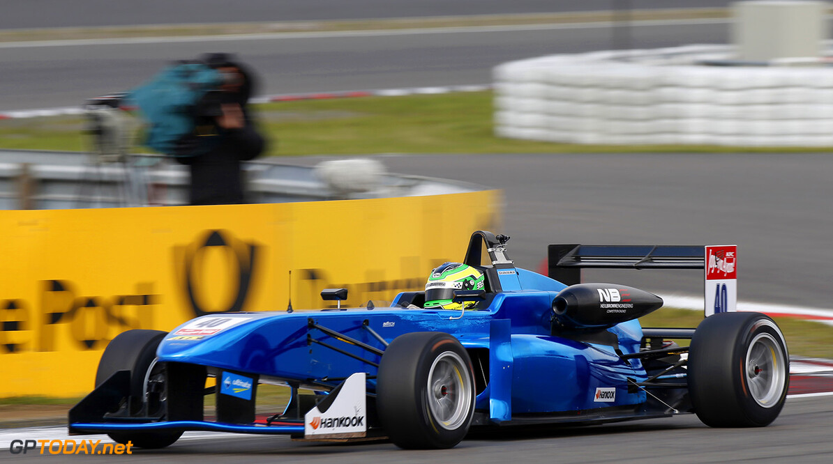 FIA Formula 3 European Championship, round 10, race 1, Nurburgr 40 Harald Schlegelmilch (LVA, ARTTech, P315 - NBE), FIA Formula 3 European Championship, round 10, race 1, Nurburgring (GER) - 25. - 27. September 2015 FIA Formula 3 European Championship, round 10, race 1, Nurburgring (GER) Thomas Suer Nurburgring Germany