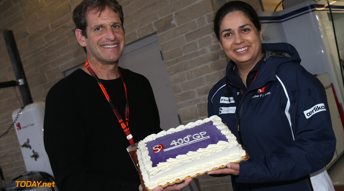 United States GP Sunday 25/10/15 Bobby Epstein (USA), Circuit of the Americas owner.