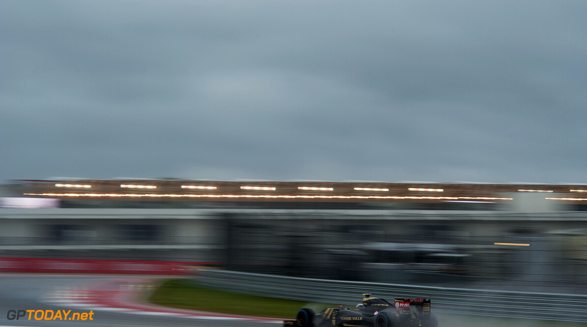 Formula One World Championship Pastor Maldonado (VEN) Lotus F1 E23 in the qualifying session.