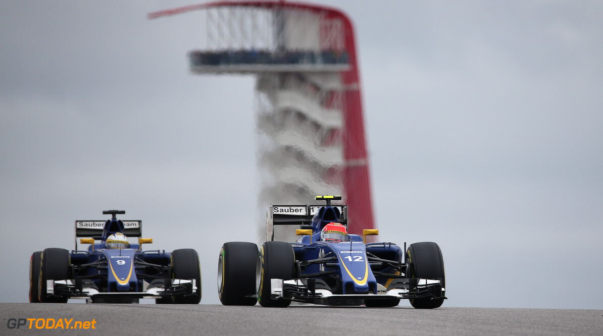 United States GP Race 25/10/15 Felipe Nasr (BRA), Sauber F1 Team. 