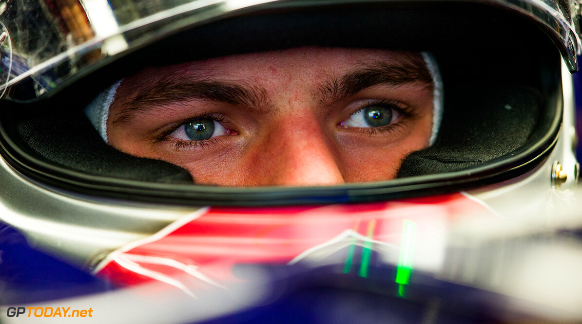 SOCHI, RUSSIA - OCTOBER 09:  Max Verstappen of Scuderia Toro Rosso and The Netherlands during practice for the Formula One Grand Prix of Russia at Sochi Autodrom on October 9, 2015 in Sochi, Russia.  (Photo by Peter Fox/Getty Images) // Getty Images/Red Bull Content Pool // P-20151009-00445 // Usage for editorial use only // Please go to www.redbullcontentpool.com for further information. //  F1 Grand Prix of Russia - Practice Peter Fox Sochi Russian Federation  P-20151009-00445
