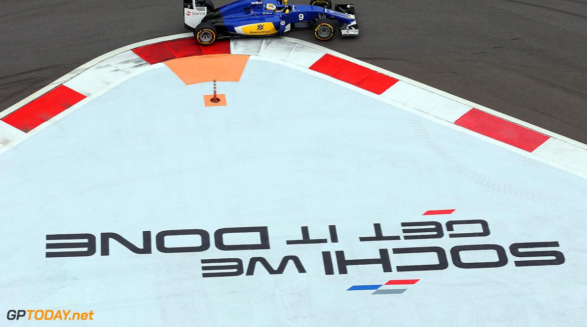 Russian GP Race 11/10/15 Marcus Ericsson (SWE), Sauber F1 Team.  Sochi Autodrome.  Russian GP Race 11/10/15 Jad Sherif                       Sochi Russia  F1 Formula 1 One 2015 Sotch Action Ericsson Sauber