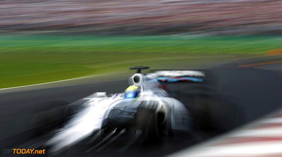 Autodromo Hermanos Rodriguez, Mexico City, Mexico. Sunday 1 November 2015. Felipe Massa, Williams FW37 Mercedes. Photo: Glenn Dunbar/Williams ref: Digital Image WW2Q1565      Action