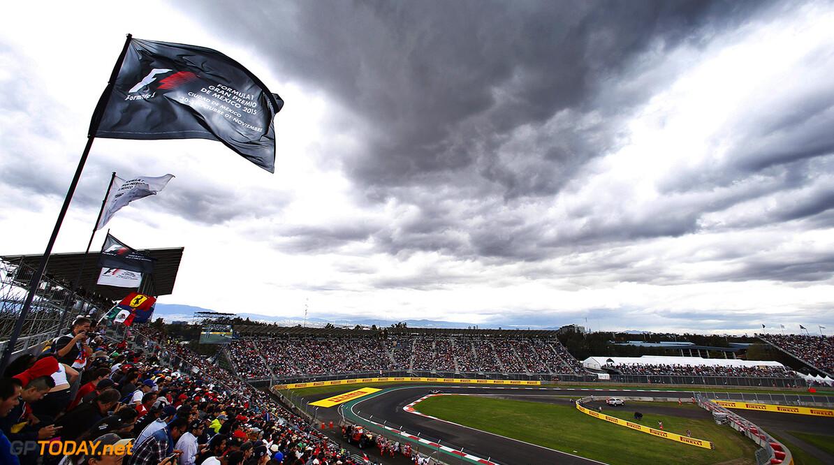 Autodromo Hermanos Rodriguez, Mexico City, Mexico. Saturday 31 October 2015. Valtteri Bottas, Williams FW37 Mercedes. Photo: Glenn Dunbar/Williams ref: Digital Image W89P0446      Action