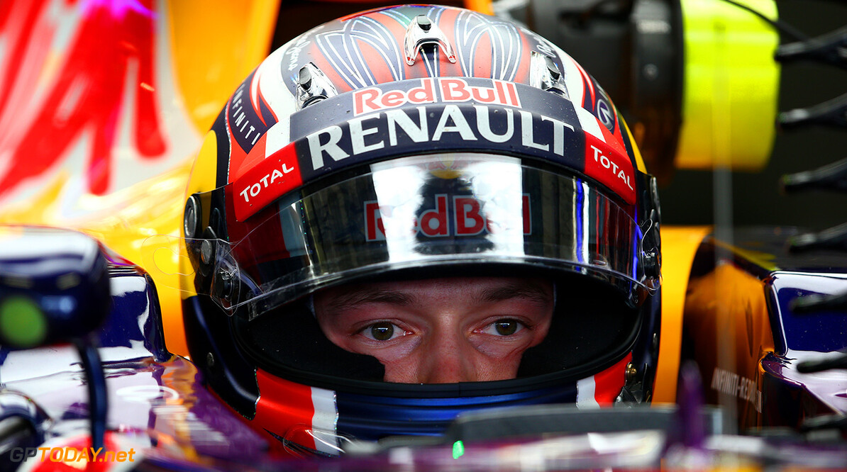 MEXICO CITY, MEXICO - OCTOBER 30:  Daniil Kvyat of Russia and Infiniti Red Bull Racing sits in his car in the garage during practice for the Formula One Grand Prix of Mexico at Autodromo Hermanos Rodriguez on October 30, 2015 in Mexico City, Mexico.  (Photo by Mark Thompson/Getty Images) // Getty Images/Red Bull Content Pool // P-20151031-00003 // Usage for editorial use only // Please go to www.redbullcontentpool.com for further information. //  F1 Grand Prix of Mexico - Practice Mark Thompson Mexico City Mexico  P-20151031-00003