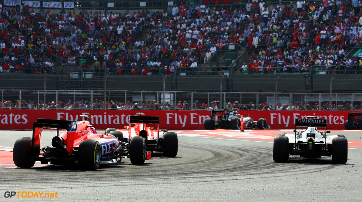 Formula One World Championship Alexander Rossi (USA) Manor Marussia F1 Team (Left).