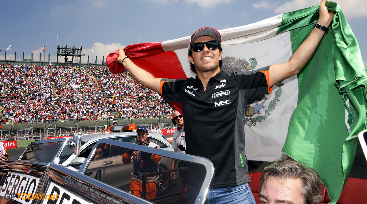 Sergio Perez rules out home podium