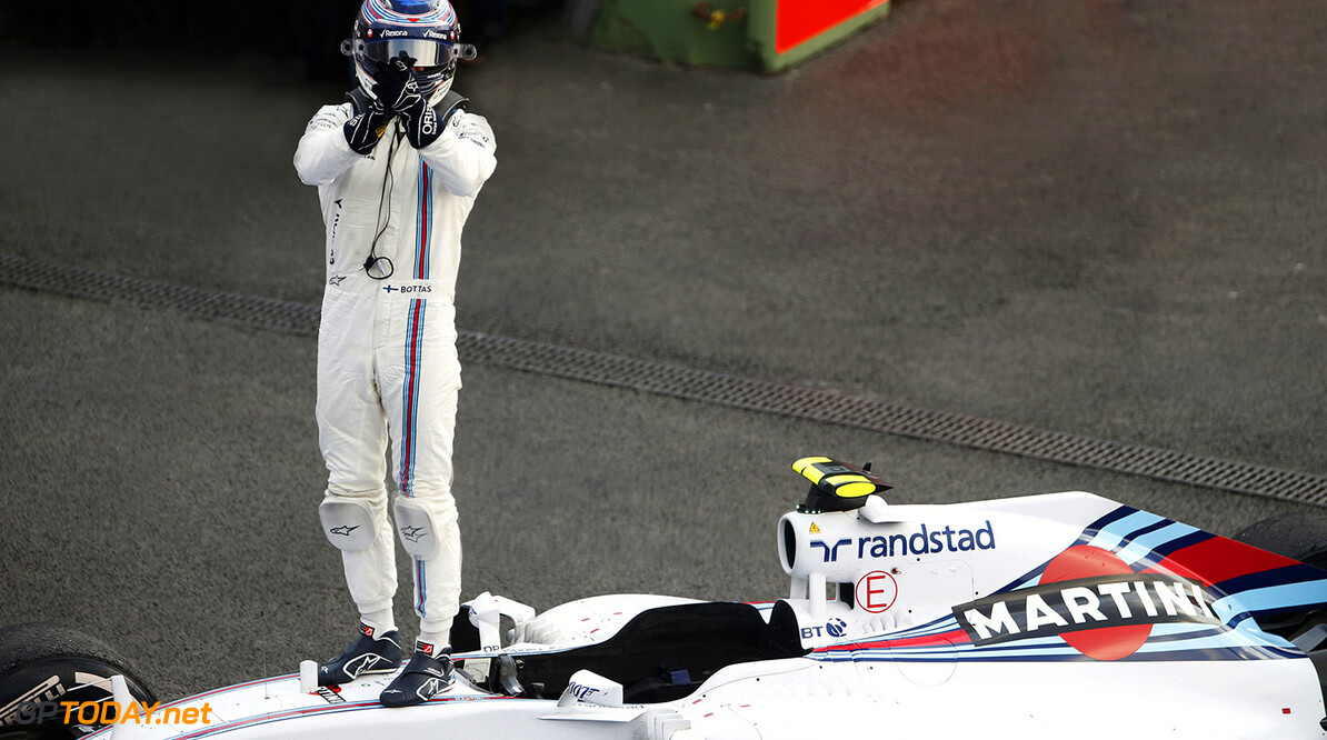 Bottas gives himself a higher score than Williams