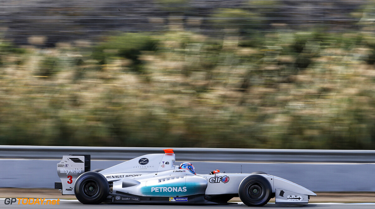 03 JAAFAR Jazeman (MAL) Fortec Motorsports (GBR) action during the 2015 World Series by Renault from October 16 to 18th  2015, at Jerez, Spain. Photo Jean-Michel Le Meur / DPPI. AUTO - WSR JEREZ 2015 Jean-Michel Le Meur Jerez Espagne  2.0 2015 Auto Car Championnat Europe Formula Renault Formules Fr Fr 3.5 Monoplace Motorsport Race Renault Sport Series Sport Uniplace Voitures World World Series By Renault Wsr Espagne