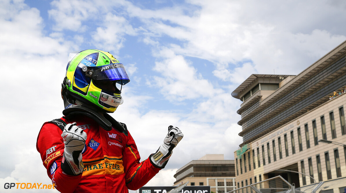 FIA Formula E Championship 2015/16. Putrajaya ePrix, Putrajaya, Malaysia. Race. Lucas Di Grassi (BRA), ABT Audi Sport FE01. Putrajaya, Kuala Lumpur, Malaysia, Asia. Saturday 7 November 2015 Photo: Adam Warner / LAT / FE ref: Digital Image _L5R6090   Adam Warner
