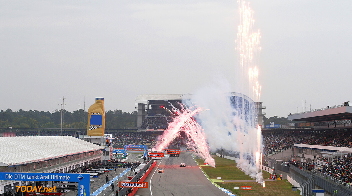 DTM round 9, race 2 Hockenheim (DEU) #53 Jamie Green, Audi RS5 DTM, #5 Mattias Ekstrom, Audi RS5 DTM DTM round 9, race 2 Hockenheim (DEU) HOCH ZWEI / Thomas Suer Hockenheim Germany  Partner01