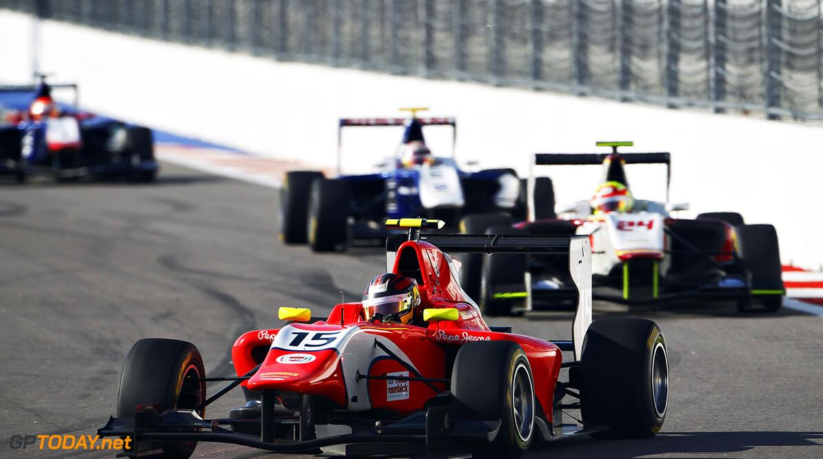 2015 GP3 Series Round 7.  Sochi Autodrom, Sochi, Russia  Sunday 11 October 2015. Emil Bernstorff (GBR, Arden International)  Photo: Sam Bloxham/GP3 Series Media Service.  ref: Digital Image _G7C7430      sunday race one action