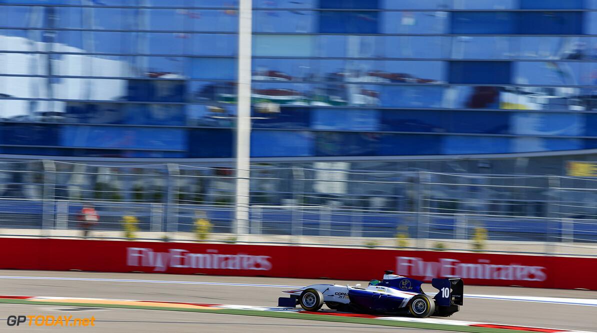 2015 GP3 Series Round 7. Sochi Autodrom, Sochi, Russia. Sunday 11 October 2015. Adderly Fong (HKG, Koiranen GP)  Photo: Zak Mauger/GP3 Series Media Service. ref: Digital Image _L0U8634   Zak Mauger    Race One 1 race action
