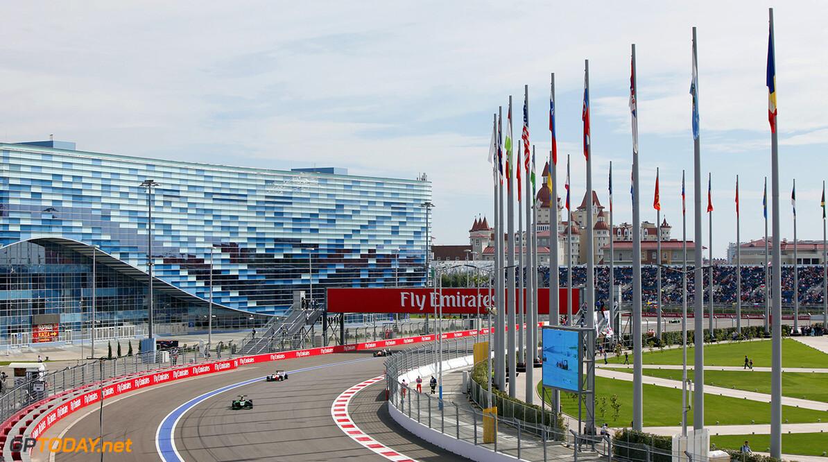 2015 GP3 Series Round 7. Sochi Autodrom, Sochi, Russia. Sunday 11 October 2015. Alex Fontana (SUI, Status Grand Prix)  Photo: Zak Mauger/GP3 Series Media Service. ref: Digital Image _MG_3632   Zak Mauger    Race Two 2 action