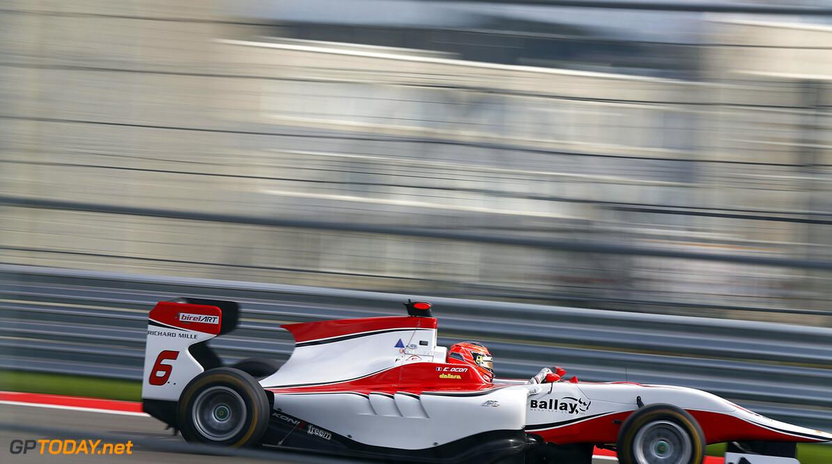 2015 GP3 Series Round 7. Sochi Autodrom, Sochi, Russia Saturday 10 October 2015. Esteban Ocon (FRA, ART Grand Prix)  Photo: Sam Bloxham/GP3 Series Media Service. ref: Digital Image _SBL3118  Sam Bloxham    Qualifying Action
