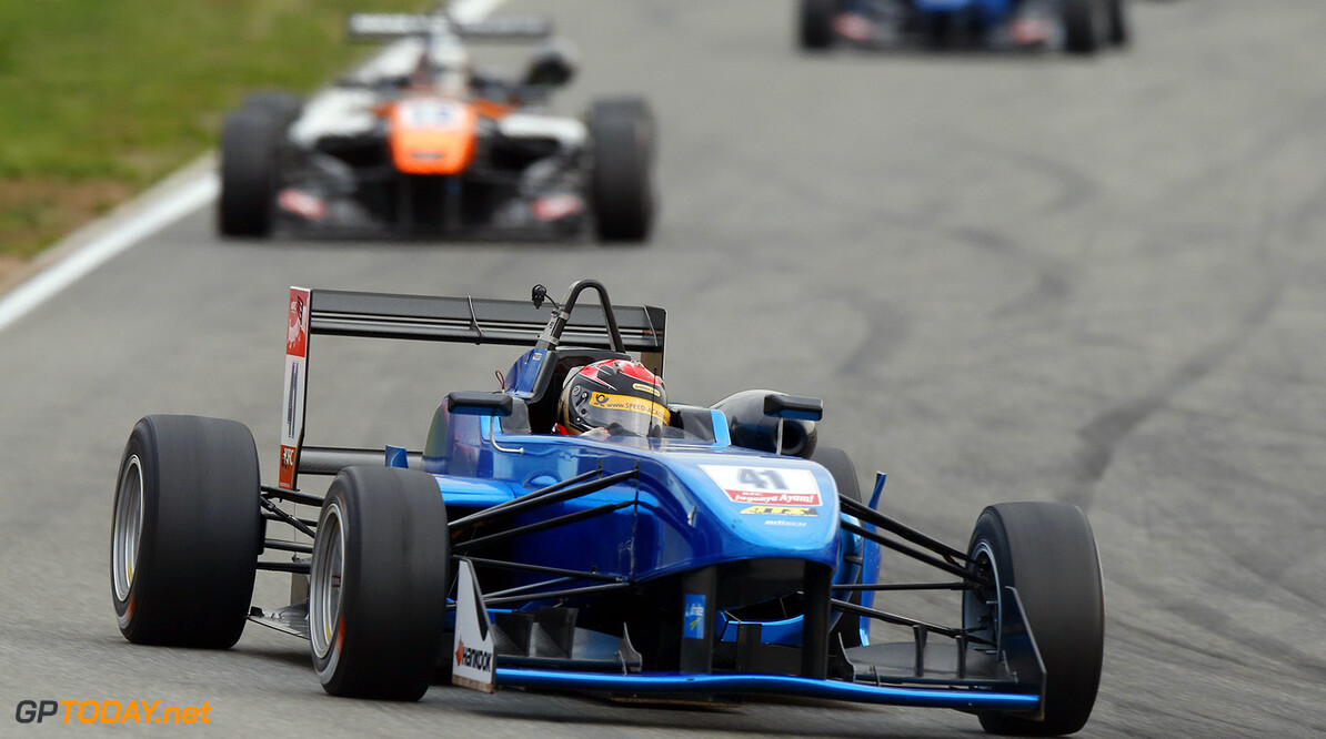 FIA Formula 3 European Championship, round 11, race 2, Hockenhei 41 Marvin Dienst (GER, ARTLine Engineering, P315 - NBE), FIA Formula 3 European Championship, round 11, race 2, Hockenheim (GER) - 16. - 18. October 2015 FIA Formula 3 European Championship, round 11, race 2, Hockenheim (GER) Thomas Suer Hockenheim Germany