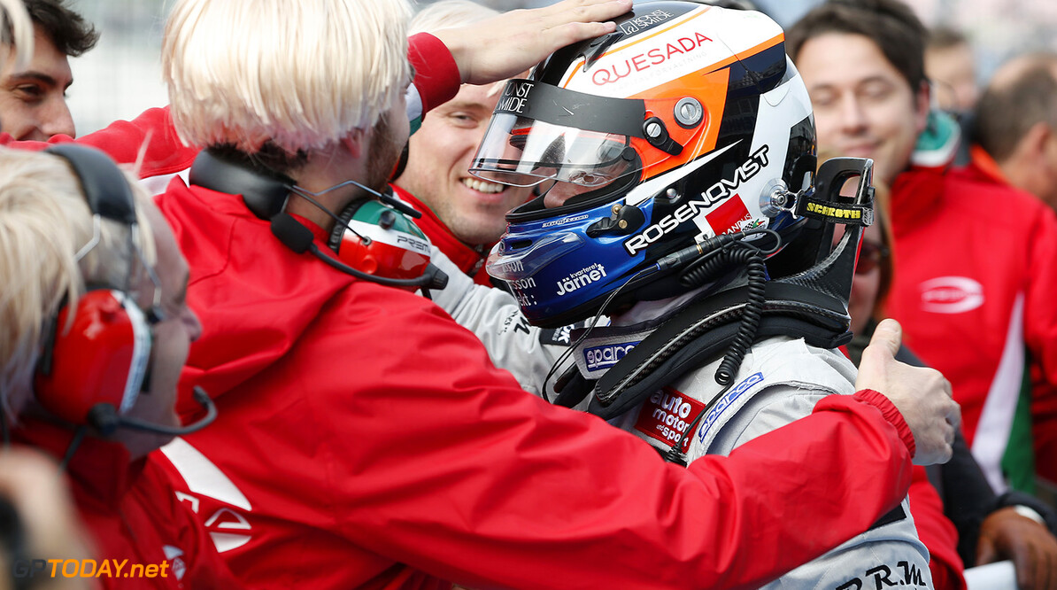 FIA Formula 3 European Championship, round 11, race 3, Hockenhei 1 Felix Rosenqvist (SWE, Prema Powerteam, Dallara F312 - Mercedes-Benz), FIA Formula 3 European Championship, round 11, race 3, Hockenheim (GER) - 16. - 18. October 2015 FIA Formula 3 European Championship, round 11, race 3, Hockenheim (GER) Thomas Suer Hockenheim Germany