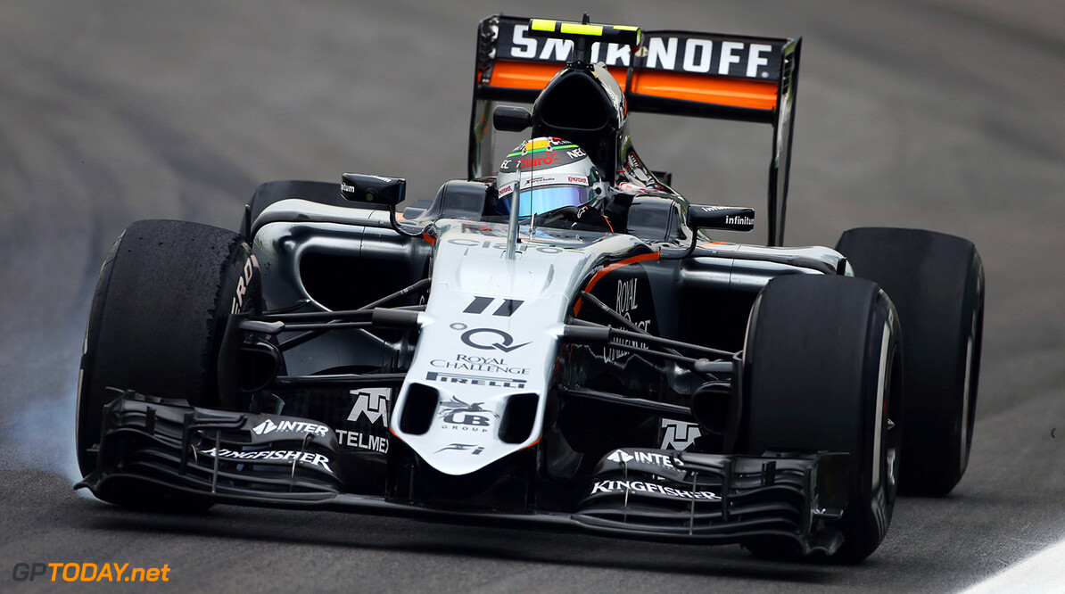 FP2: Perez best of the rest behind Mercedes