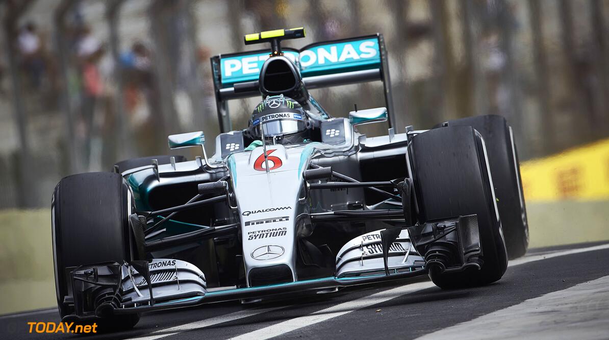 """Rosberg: """"Het ziet er goed uit voor de race"""""""