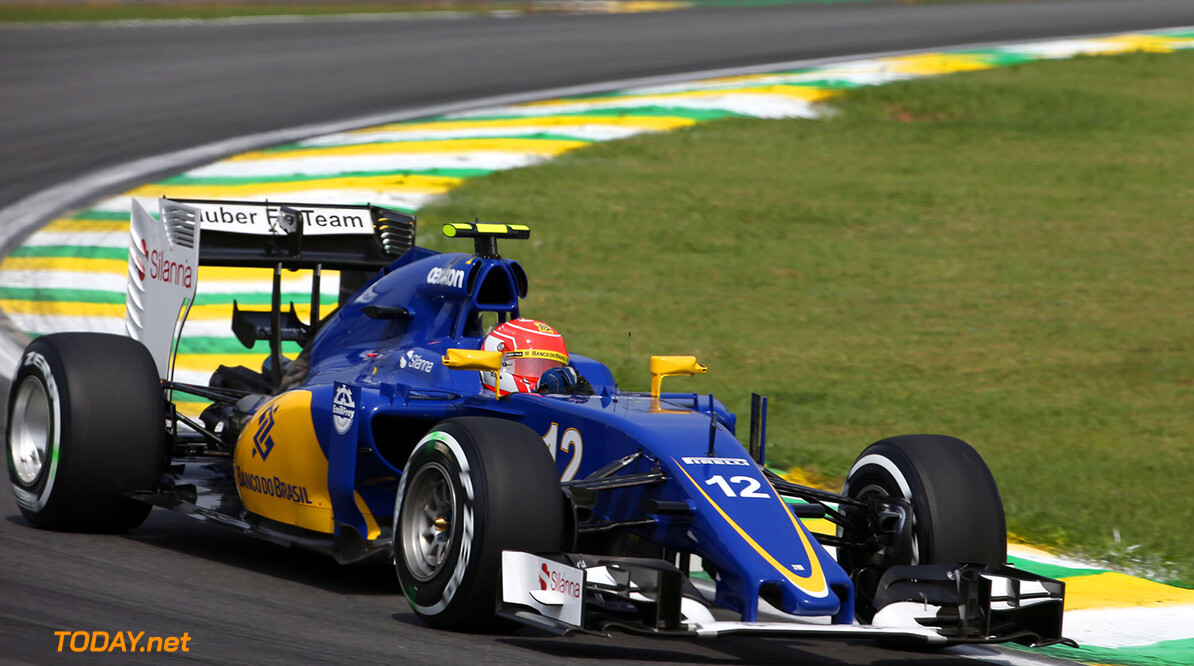 Brazilian GP Friday 13/11/15 Felipe Nasr (BRA), Sauber F1 Team. 