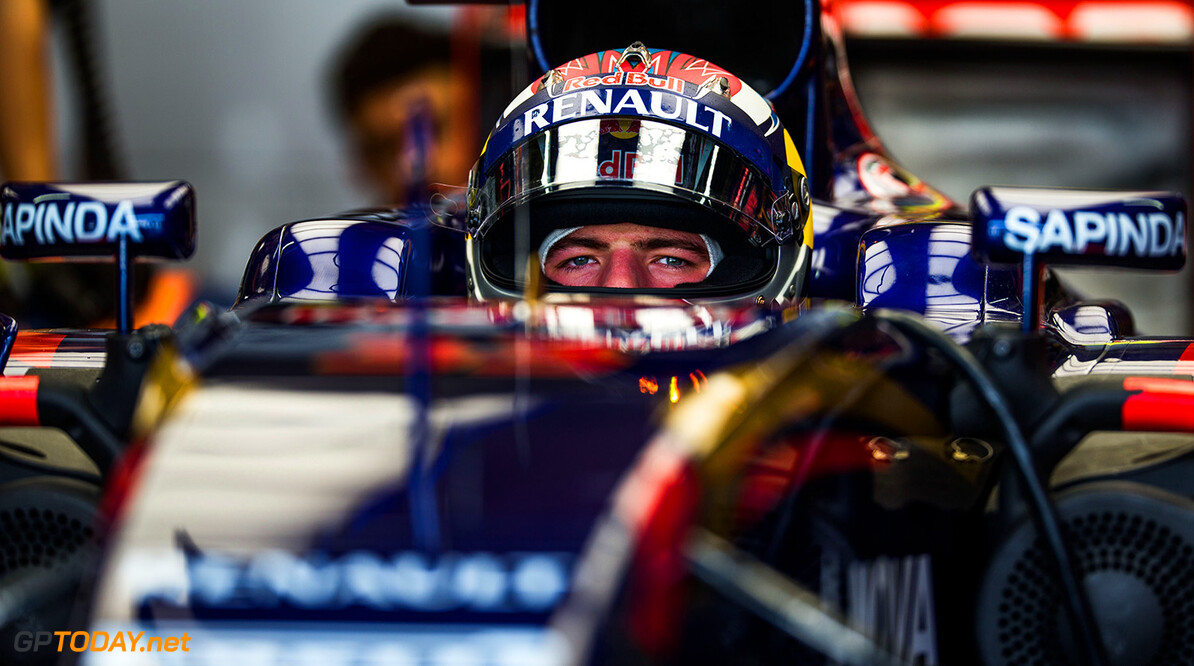 SAO PAULO, BRAZIL - NOVEMBER 13:  Max Verstappen of Scuderia Toro Rosso and The Netherlands during practice for the Formula One Grand Prix of Brazil at Autodromo Jose Carlos Pace on November 13, 2015 in Sao Paulo, Brazil.  (Photo by Peter Fox/Getty Images) // Getty Images/Red Bull Content Pool // P-20151113-00725 // Usage for editorial use only // Please go to www.redbullcontentpool.com for further information. //  F1 Grand Prix of Brazil - Practice Peter Fox Sao Paulo Brazil  P-20151113-00725