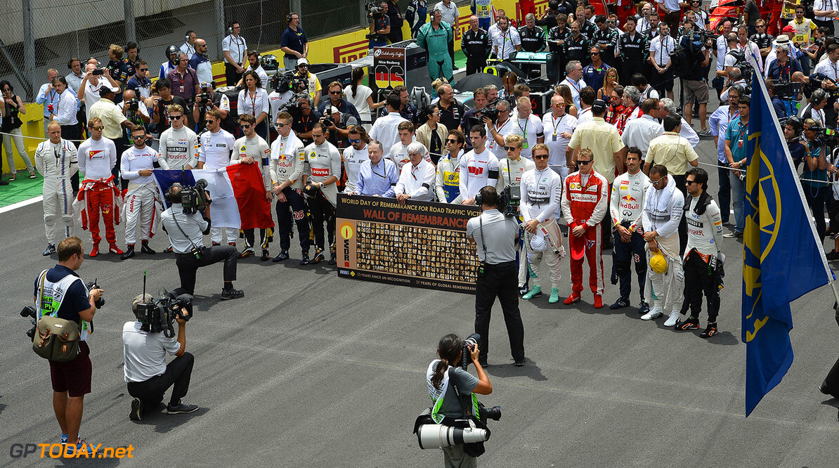 Minute of silence was for the French - Lauda