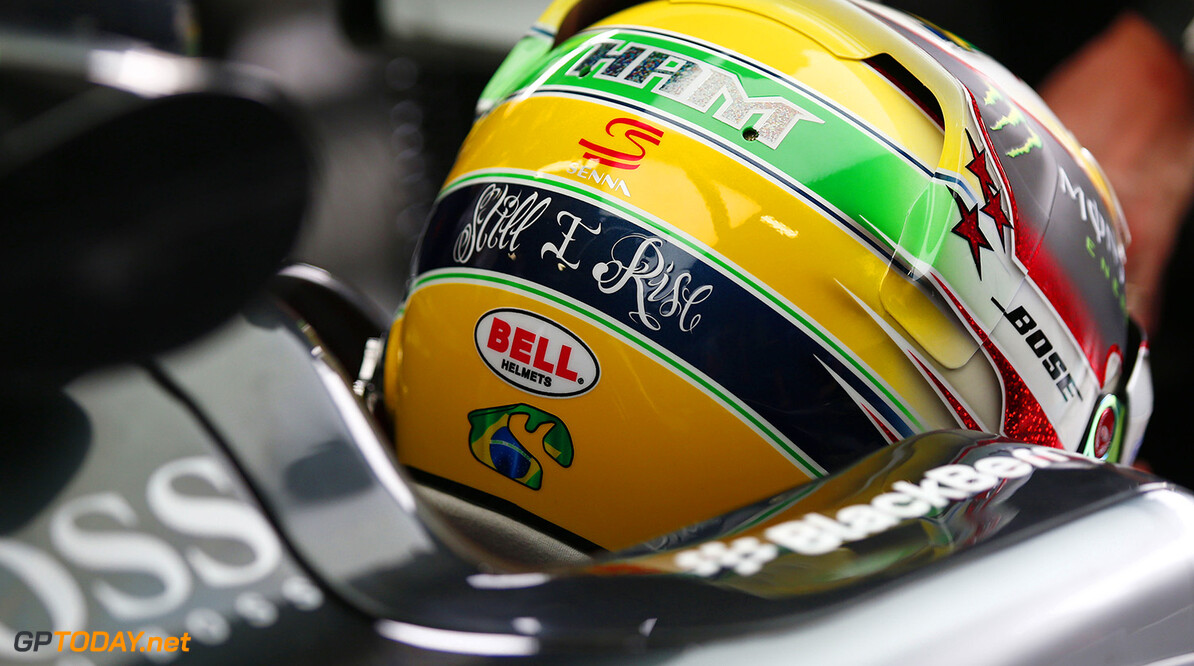 Lewis Hamilton to wear one-off helmet in Brazil