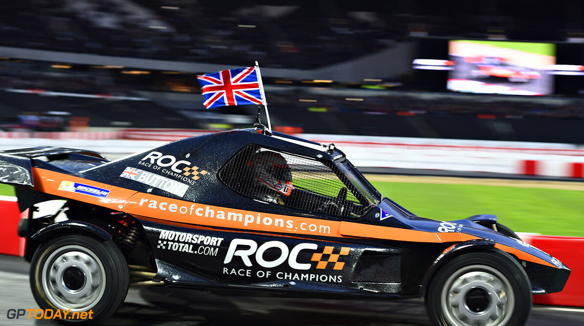 Jenson Button and David Coulthard confirmed for Race of Champions