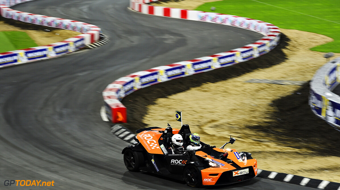 2015 Race of Champions, Olympic Park, London Felipe Massa (BRA) in the KTM X-Bow      action