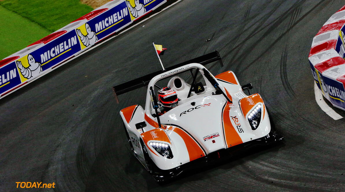 2015 ROC Nations Cup, Olympic Park, London Nico Hulkenberg (GER) in the Radical SR3 RSX in the ROC Nations Cup      action