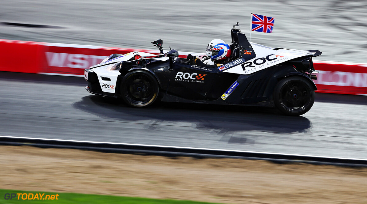 2015 Race of Champions, Olympic Park, London Jolyon Palmer (GBR) in the KTM X-Bow      action