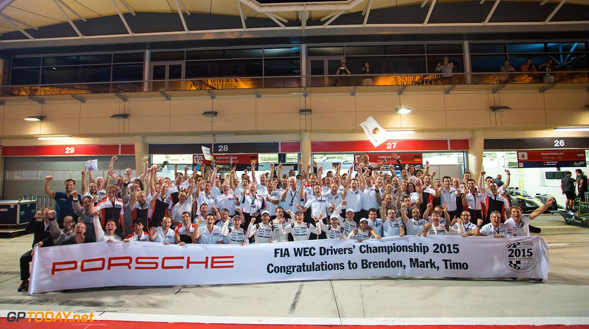 DSC04439.jpg Porsche celebrations, champions- 6 Hours of Bahrain at Bahrain International Circuit - Sakhir - Bahrain  Porsche celebrations, champions- 6 Hours of Bahrain at Bahrain International Circuit - Sakhir - Bahrain  Nick Dungan Sakhir Bahrain  Adrenal Media 6 hours WEC ACO Bahrain motorsport
