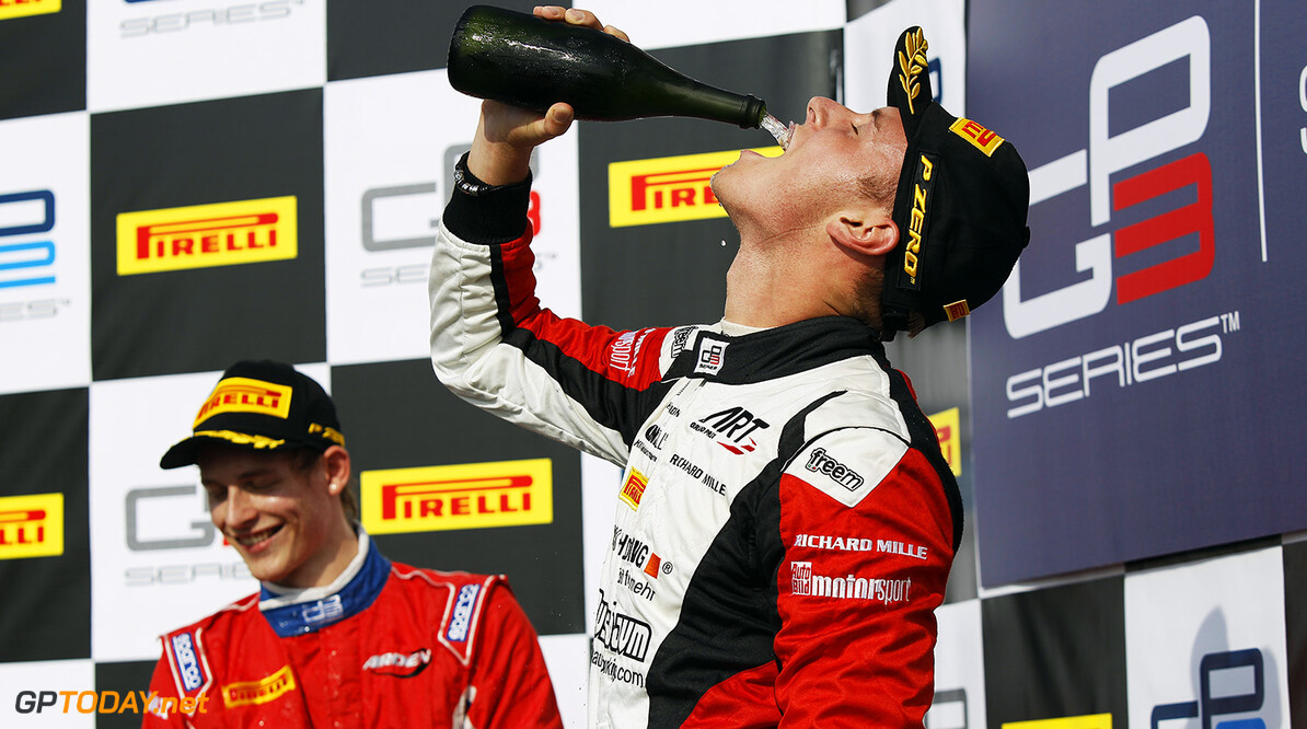 2015 GP3 Series Round 8. Bahrain International Circuit, Bahrain Friday 20 November 2015. Marvin Kirchhofer (GER, ART Grand Prix)  Photo: Sam Bloxham/GP3 Series Media Service. ref: Digital Image _G7C0675  Sam Bloxham    Race One 1