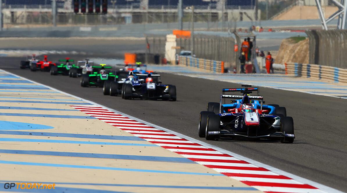 2015 GP3 Series Round 8. Bahrain International Circuit, Bahrain Friday 20 November 2015. Antonio Fuoco (ITA, Carlin)  Photo: Jakob Ebrey/GP3 Series Media Service. ref: Digital Image AQ2Y4914  Jakob Ebrey    Race One 1 action