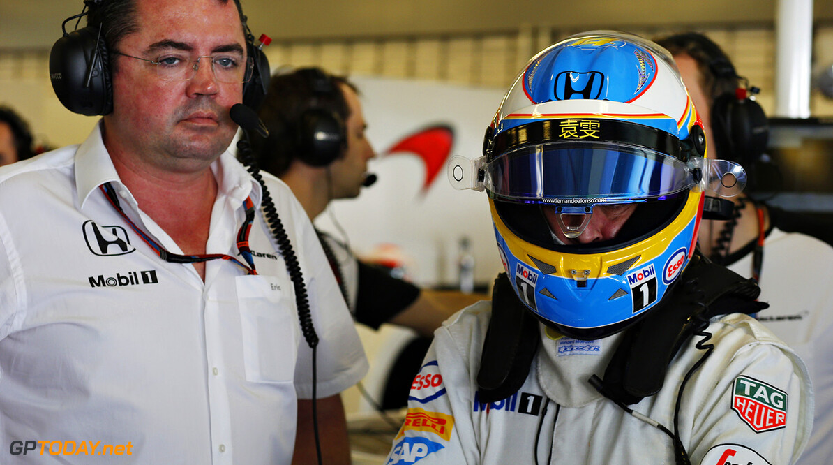 Fernando Alonso hopes that Eric Boullier remains with McLaren