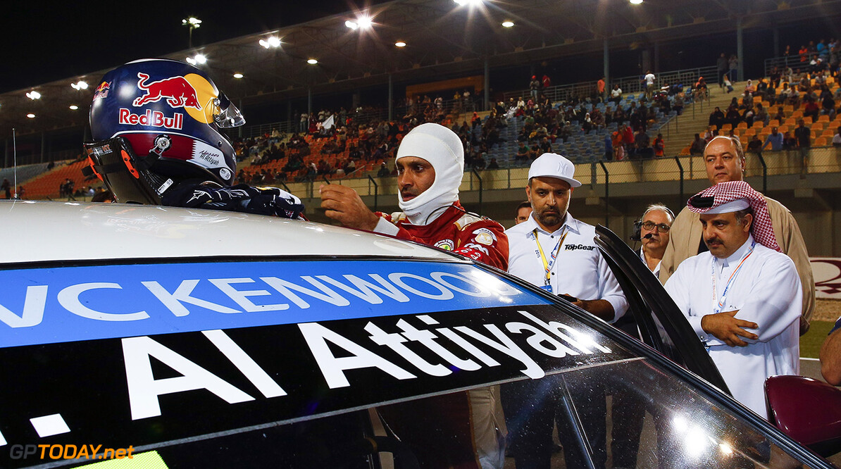 95 AL ATTIYAH Nasser (QAT) Chevrolet Cruze team Campos racing action grille de depart starting grid  during the 2015 FIA WTCC World Touring Car Championship race at Losail  from November 25th to 27th  2015, Qatar. Photo Frederic Le Floc'h / DPPI AUTO - WTCC LOSAIL 2015 Frederic Le Floc'h Losail Qatar  Auto CHAMPIONNAT DU MONDE CIRCUIT COURSE FIA Losail International Circuit Motorsport November Novembre Quatar Tourisme WTCC