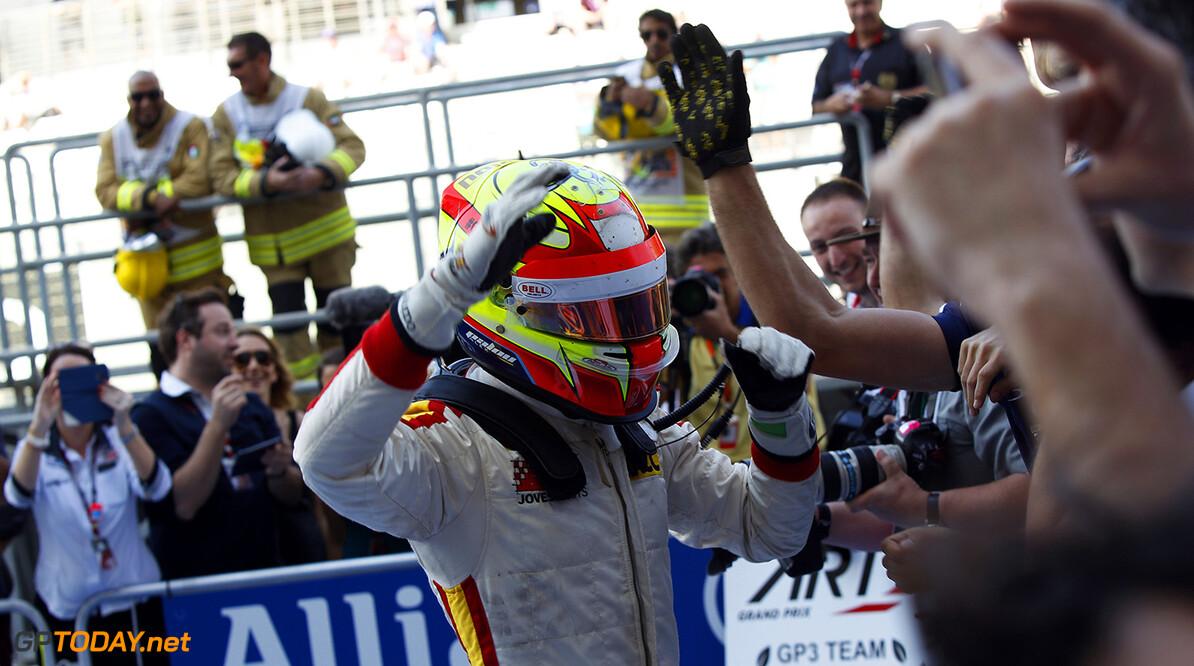 2015 GP3 Series Round 9 Yas Marina Circuit, Abu Dhabi, UAE. Sunday 29 November 2015. Alex Palou (ESP, Campos Racing)  Photo: Sam Bloxham/GP3 Series Media Service. ref: Digital Image _G7C8652  Sam Bloxham    Race 1 one