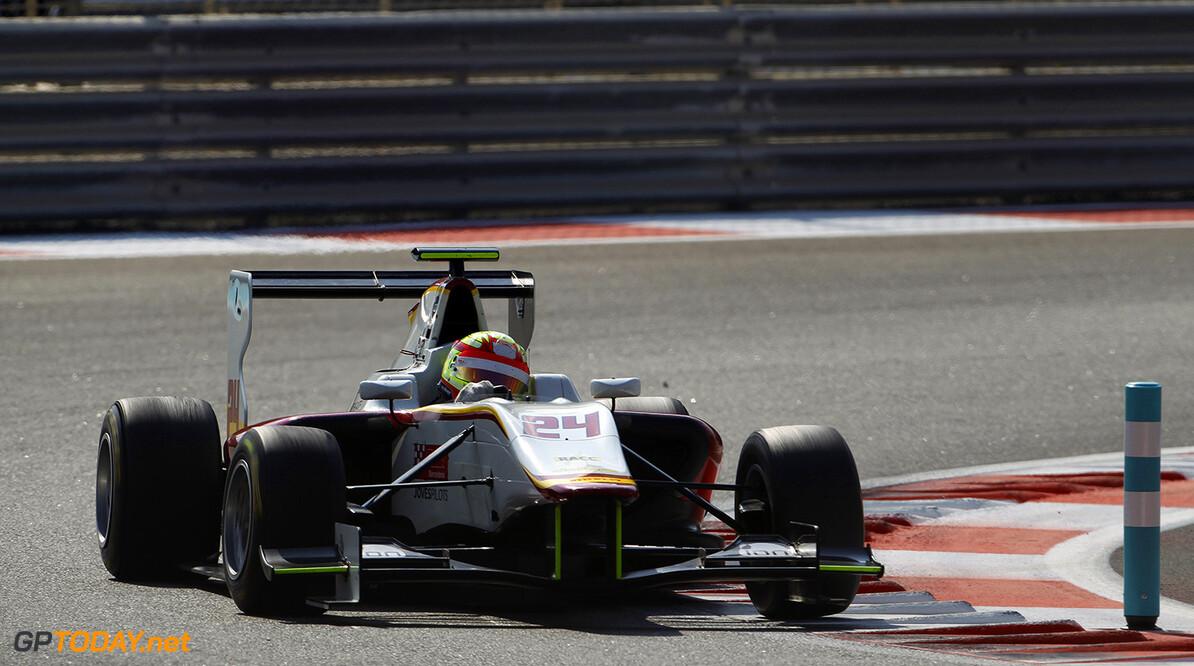 2015 GP3 Series Round 9 Yas Marina Circuit, Abu Dhabi, UAE. Sunday 29 November 2015. Alex Palou (ESP, Campos Racing)  Photo: Sam Bloxham/GP3 Series Media Service. ref: Digital Image _G7C8538  Sam Bloxham    Race 1 one action