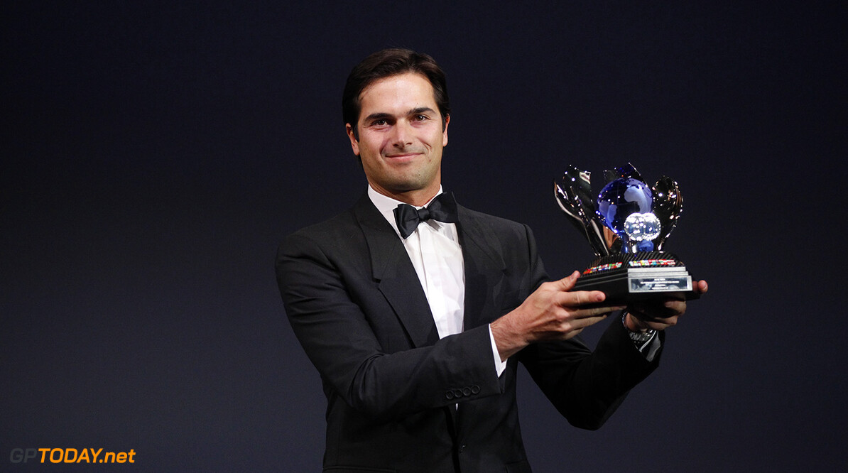 Nelson Piquet, portrait during the FIA Prize Giving 2015 on December 4th 2015, at Paris, France. Photo Florent Gooden / DPPI AUTO - FIA PRIZE GIVING 2015 Florent Gooden  Paris France  2015 decembre december ceremonie ceremony Remise des prix awards celebration federation internationale de l'automobile international automobil federation auto