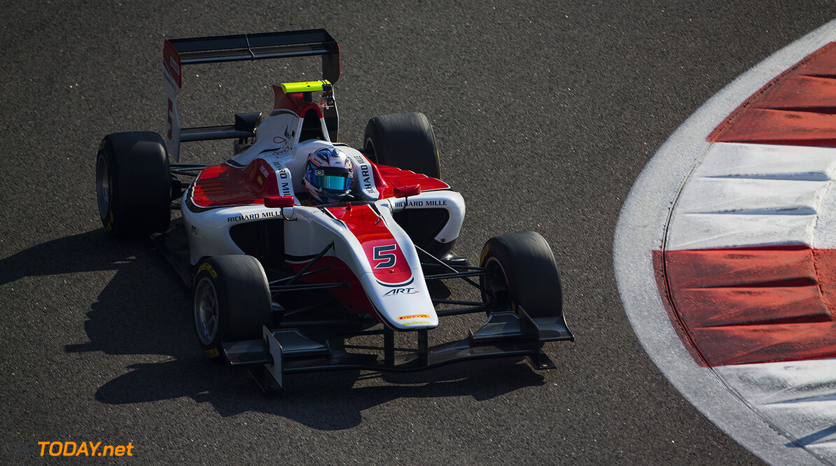 2015 GP3 Series Test 4. Yas Marina Circuit, Abu Dhabi, United Arab Emirates.