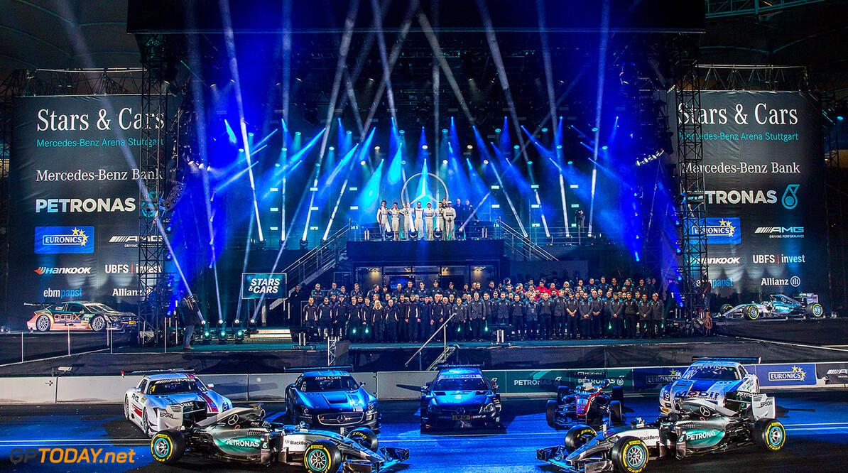 12122015TARSANDCARS Stars & Cars, Stuttgart, Mercedes Benz Arena, 12.12.2015,  Podium Stars & Cars, Stuttgart, 12.12.2015 Mercedes Stuttgart Deutschland  Event Stars & Cars Stars 'n' Cars Stars and Cars Veranstaltung 2015 Motorsport